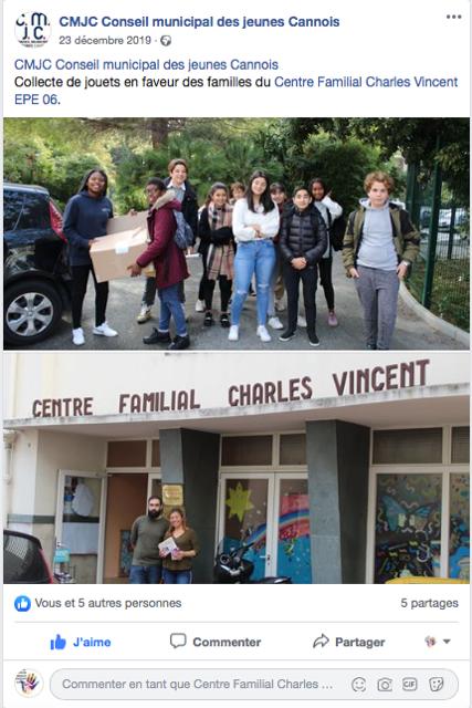 Conseil municipal des jeunes Cannois 1