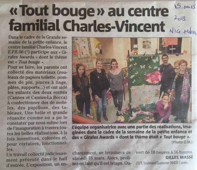 Tout bouge à Charles Vincent